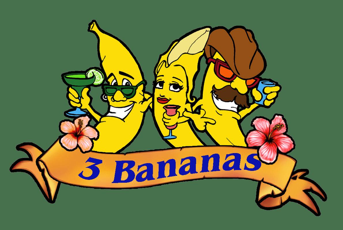 3 Bananas